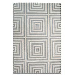 Debenhams - Grey wool 'Frankie' rug