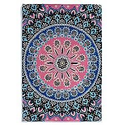 Debenhams - Multi-coloured wool 'Nomadic' rug