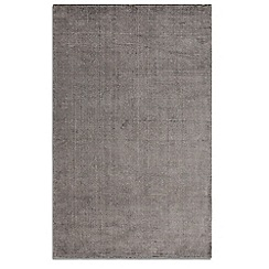 Debenhams - Slate grey wool 'Ocean' rug