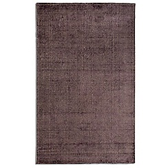 Debenhams - Purple wool 'Ocean' rug