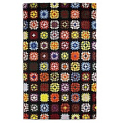 Debenhams - Multi-coloured wool 'Lily' rug