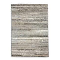 Debenhams - Beige wool 'Simply Natural' rug