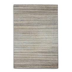 Debenhams - Beige wool 'Simply Natural' rug