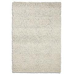 Debenhams - Beige wool 'Jessica' rug