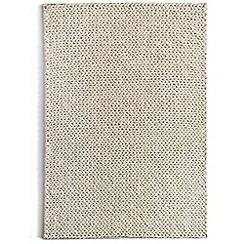 Debenhams - Ivory wool 'Fusion' rug
