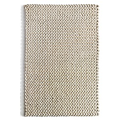 Debenhams - Ivory wool 'Urban' rug