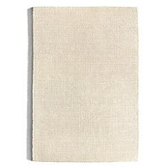 Debenhams - Ivory 'Orient' rug
