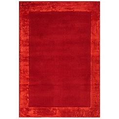 Debenhams - Red woollen 'Ascot' rug
