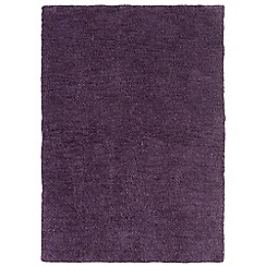 Debenhams - Grape purple 'Tula' rug