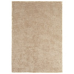 Debenhams - Natural beige 'Tula' rug