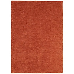Debenhams - Rust orange 'Tula' rug