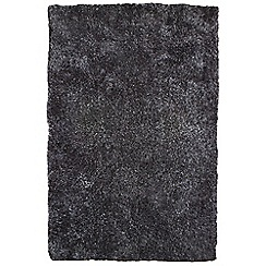 Debenhams - Charcoal grey 'Diva' rug