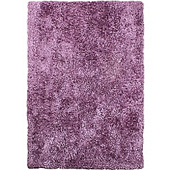 Debenhams - Light purple 'Diva' rug