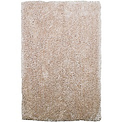 Debenhams - Cream 'Diva' rug