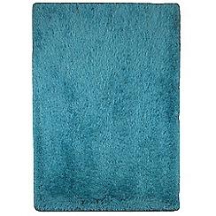 Debenhams - Blue 'Cascade' rug