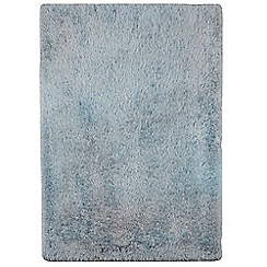 Debenhams - Light blue 'Cascade' rug