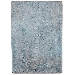 Debenhams - Light blue 'Cascade' rug