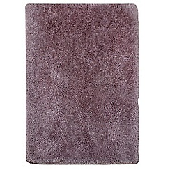 Debenhams - Heather pink 'Cascade' rug