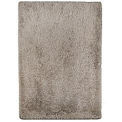 Debenhams - Mink 'Cascade' rug
