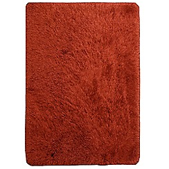 Debenhams - Orange 'Cascade' rug