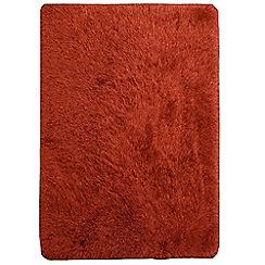 Debenhams - Orange 'Cascade' rug