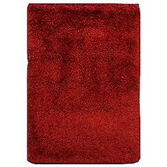 Debenhams - Ruby red 'Cascade' rug