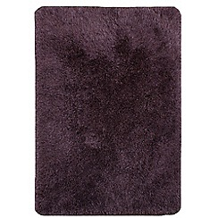 Debenhams - Violet purple 'Cascade' rug