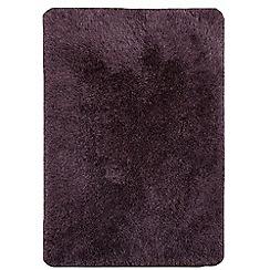 Debenhams - Violet purple 'Cascade' rug