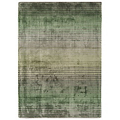 Debenhams - Green 'Holborn' rug