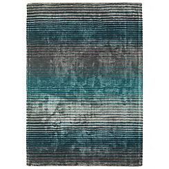 Debenhams - Turquoise 'Holborn' rug