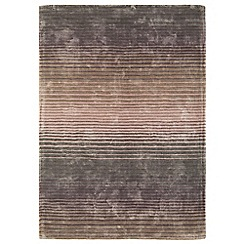 Debenhams - Lunar purple 'Holborn' rug