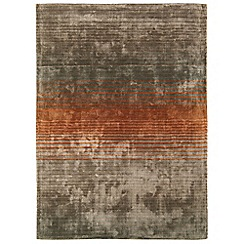 Debenhams - Orange 'Holborn' rug