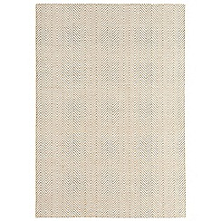 Debenhams - Natural beige 'Ives' rug