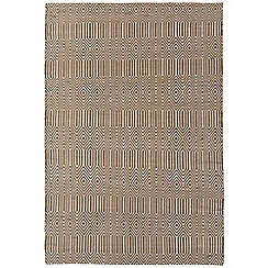 Debenhams - Brown woollen 'Sloane' rug