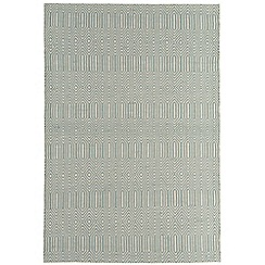 Debenhams - Light blue woollen 'Sloane' rug