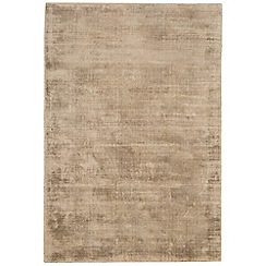 Debenhams - Gold coloured 'Blade' rug