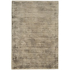 Debenhams - Light brown 'Blade' rug
