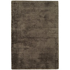 Debenhams - Dark brown 'Blade' rug