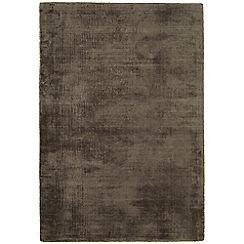 Debenhams - Dark brown 'Blade' rug