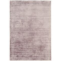 Debenhams - Lilac 'Blade' rug