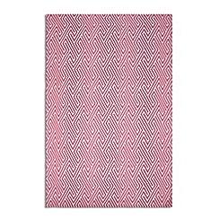 Debenhams - Pink wool 'Maisey' rug