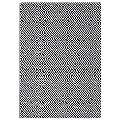 Debenhams - Black wool 'Maisey' rug