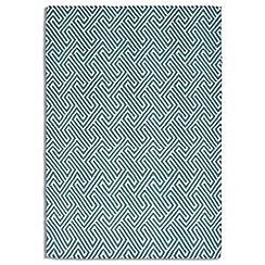 Debenhams - Green wool 'Maisey' rug