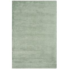 Debenhams - Pale blue woollen 'Aran' rug