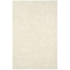 Debenhams - Cream woollen 'Aran' rug