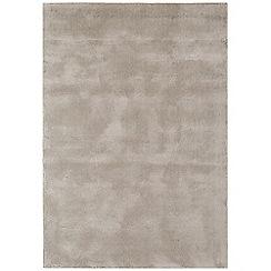 Debenhams - Brown woollen 'Aran' rug