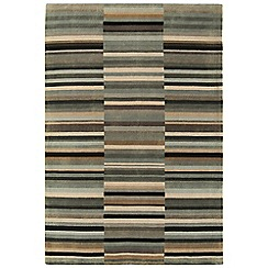 Debenhams - Black wool 'Luca' rug