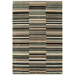Debenhams - Black wool 'Luca' rug