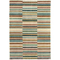 Debenhams - Green wool 'Luca' rug