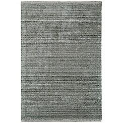 Debenhams - Dark grey woollen 'Linley' rug